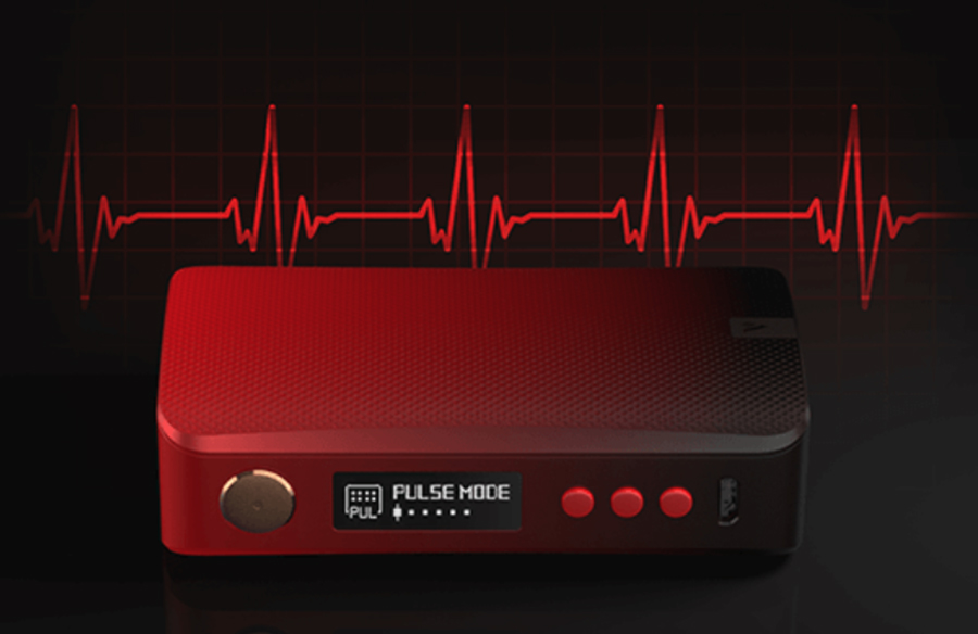 The option of Pulse mode means a more powerful and when activated, it causes the device to fire every 0.002 seconds when the firing button is pushed.