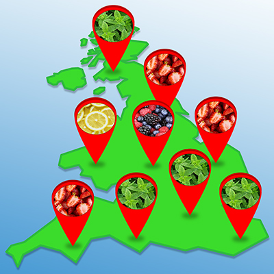 Divided By Taste: See The UK's Most Popular Flavours In The Year 2020