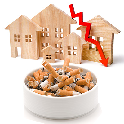 The Effects Of Smoking On The Value Of Your House