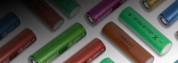 18650 Size Batteries