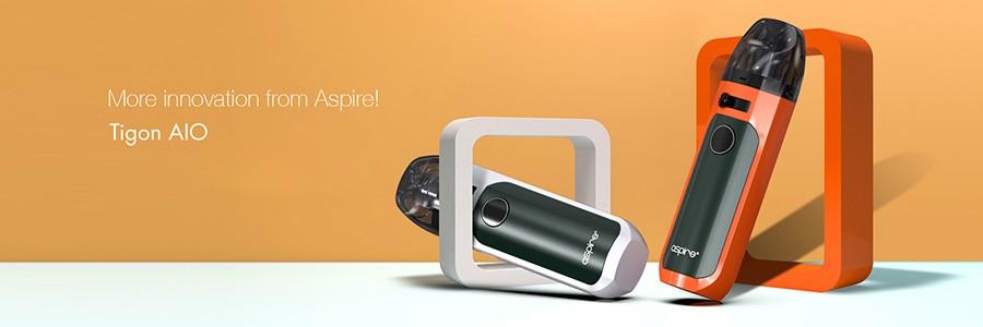 The Tigon AIO is a compact and simple to use pod vape kit.