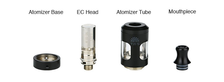The Innokin Endura T20-S vape tank features a 2ml e-liquid capacity and be used for MTL and DTL vaping.