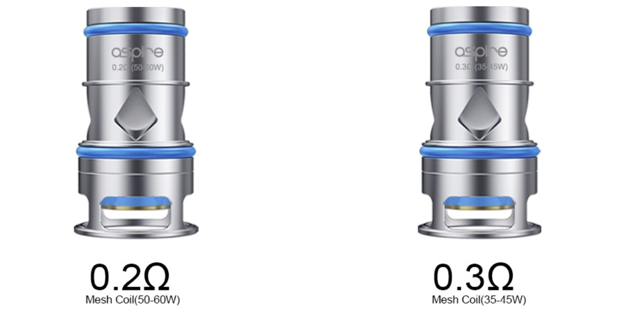 The Odan vape coils have been designed for use with the Aspire Odan vape tank.