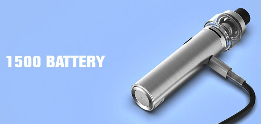 The Vaporesso Sky Solo starter kit is a pocket-friendly AIO sub ohm vape device.