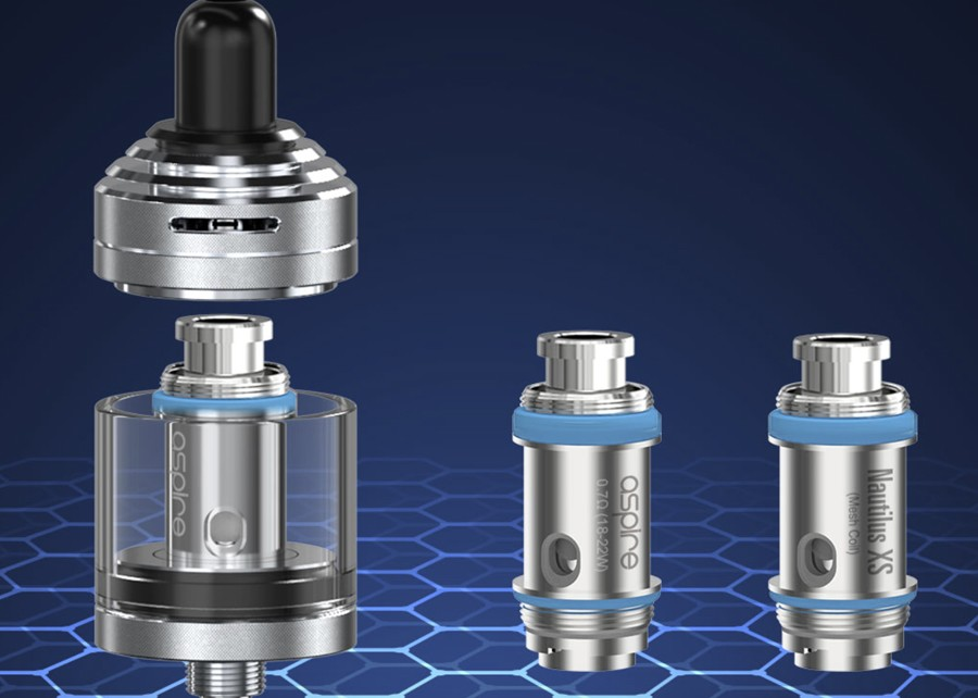 The Nautilus XS tank is compatible with all of the Nautilus X coils as well as the proprietary Nautilus XS coil in a 0.7 Ohm resistance.