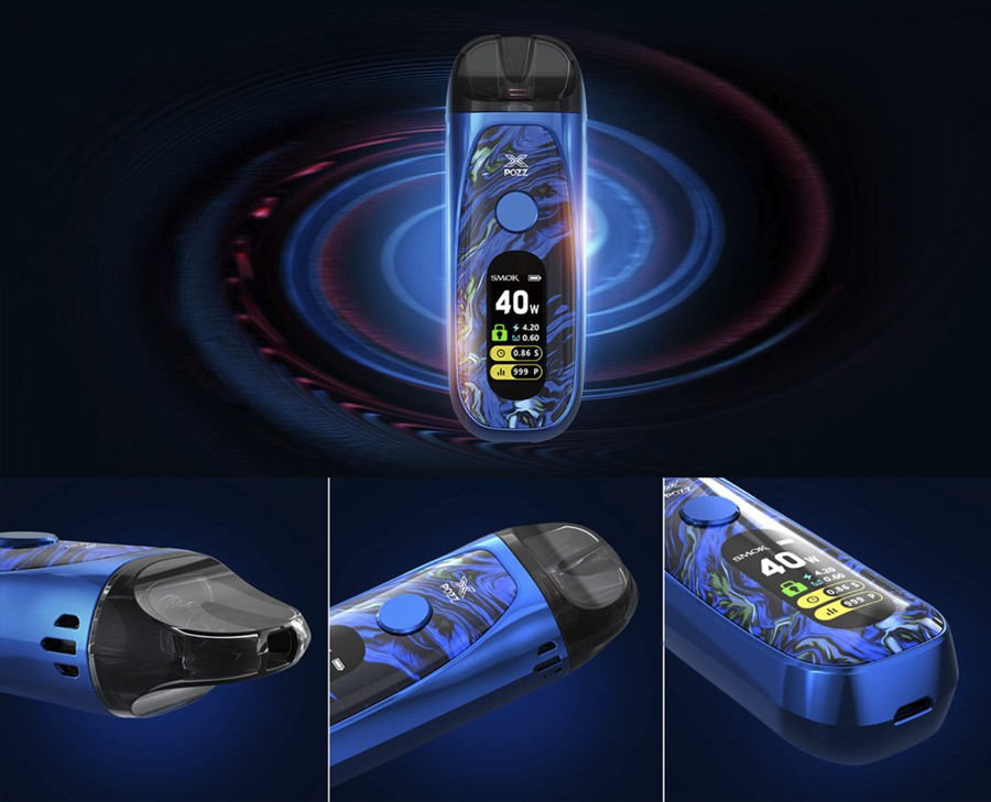 The Smok Pozz X is a convenient refillable pod for users of all experience levels.