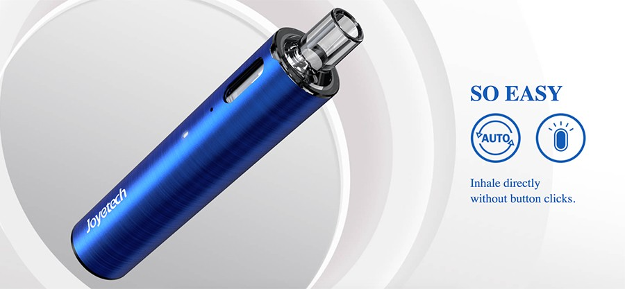 The eGo pod device features a 1000mAh built-in battery as well as a simple inhale activation for complete ease of use.