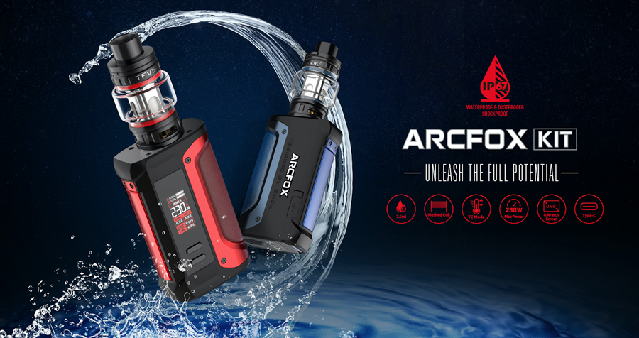 A powerful sub ohm vape kit with a sense of style, the Smok Arcfox is the ideal recommendation for vapers looking to experience increased vapour production.