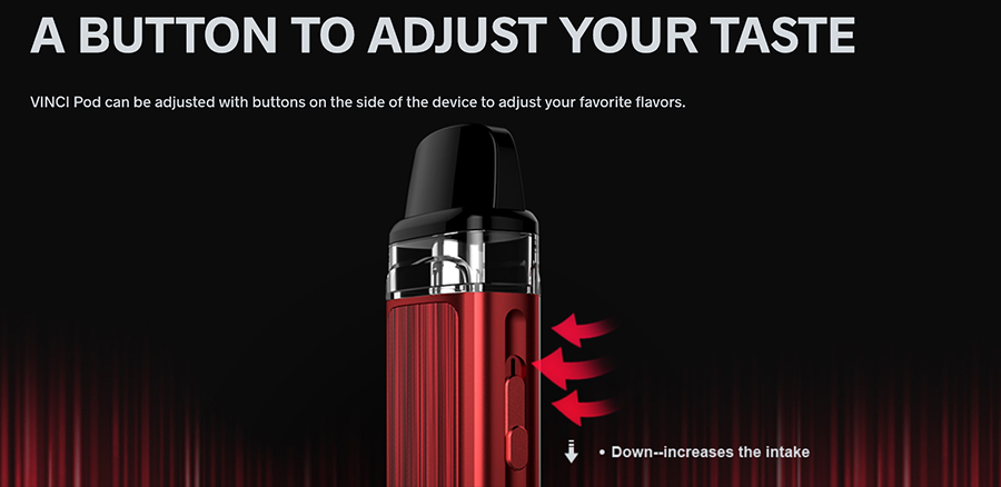 Thanks to the option of adjustable airflow, it's now easier than ever to control vapour flow for an inhale that suits your style.