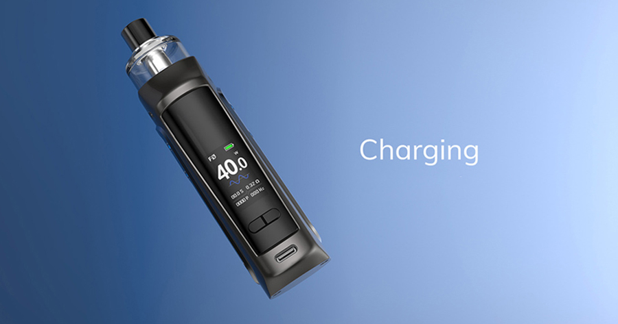 Capable of a 40W max output, you can adjust the Innokin Sensis kit's output to deliver your ideal vape every time.