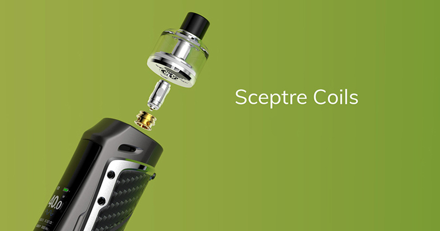Compatible with both the original Sceptre coil and the newly designed Sceptre S coils, there are four options to choose from - giving you the opportunity to find your perfect vape.