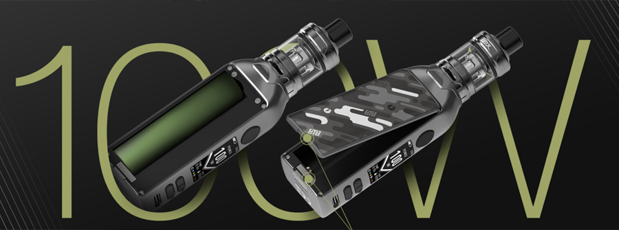 The Lost Vape BTB sub ohm starter kit is powered by a removable 18650 battery, so you can always carry a spare power source with you.