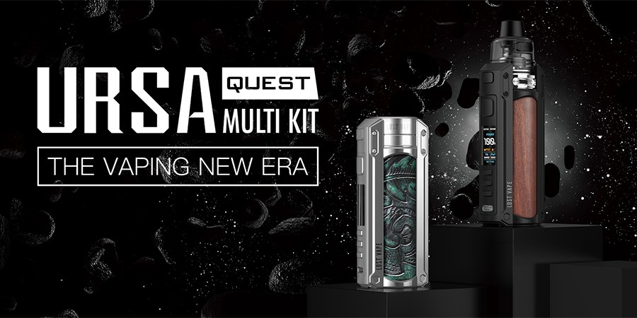 The Lost Vape Ursa Quest pod kit is a versatile option that combines a high power output with multiple modes.