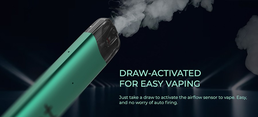 Featuring inhale activation, there are no buttons to contend with when you use the Uwell Yearn Neat 2 kit - vaping is as simple as drawing a breath.