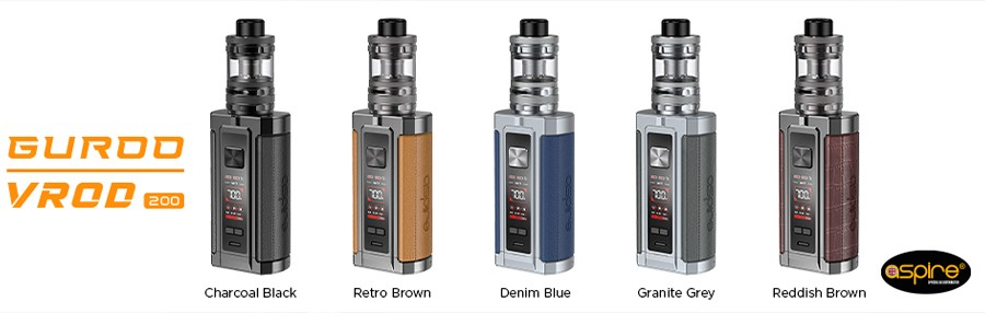 Thanks to the wide range of modes on offer the VROD sub ohm kit by Aspire can be customised to deliver your perfect vape.