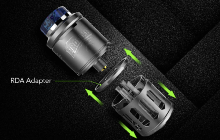 The Wotofo Profile is not just an RDTA, it can also be turned into an RDA - giving you access to two rebuildable atomisers for the price of one.