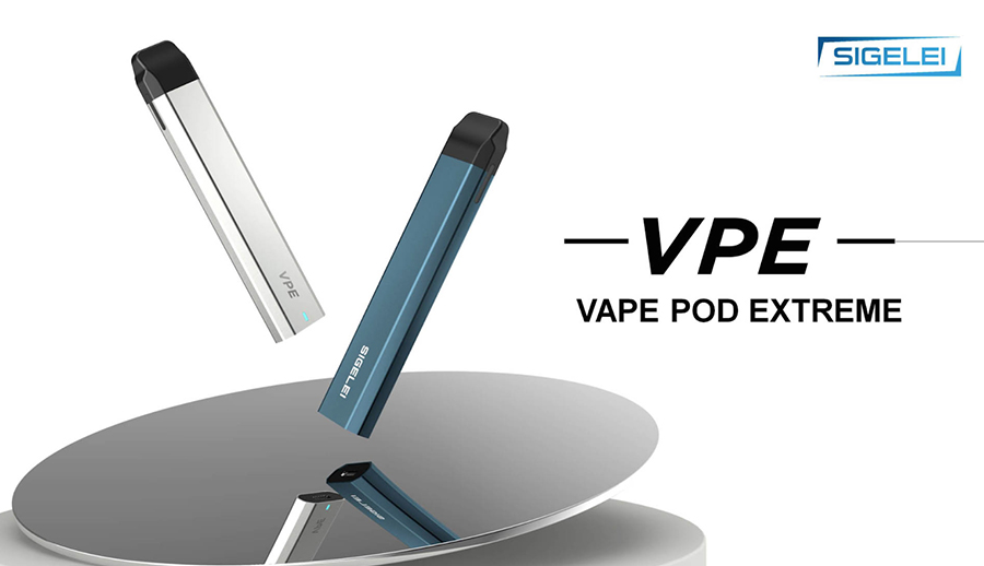 Designed to offer a simpler option that still allows for customisation, the Sigelei VPE pod kit is the ideal choice for MTL vaping.
