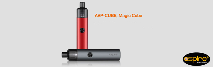 The Aspire AVP Cube pod kit features a stylish pen design which is both pocket-friendly and resilient.