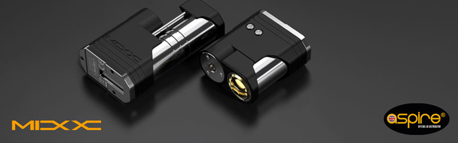 The Sunbox Mixx sub ohm mod is powered by either an 18650 or 18350 battery.