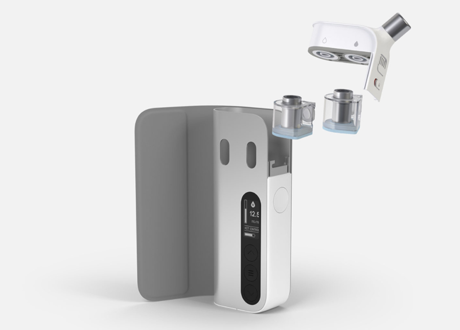 The Enovap is a highly intelligent pod kit which utilises two separate pods for nicotine and flavour adjustment.