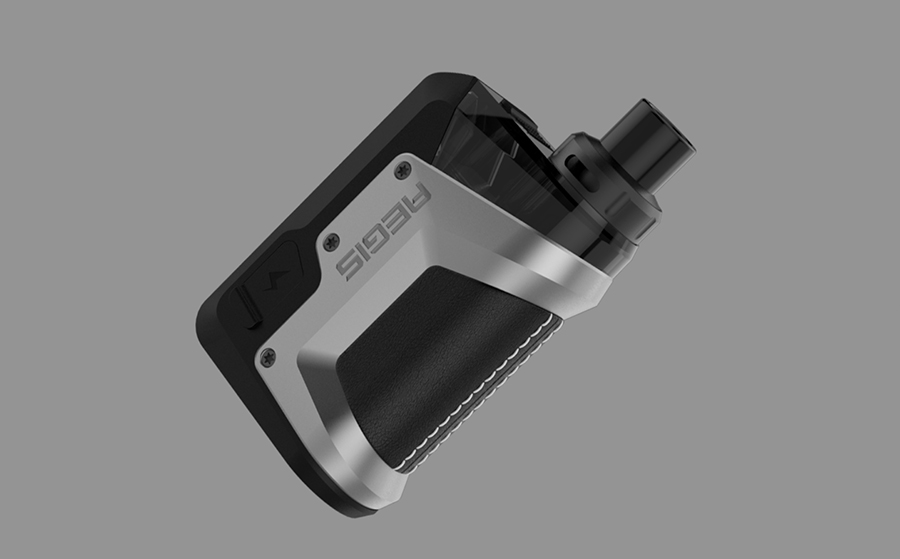 The Geekvape Aegis Hero is a sub ohm pod mod kit, powered by a 1200mAh built-in battery with a 45W max output.