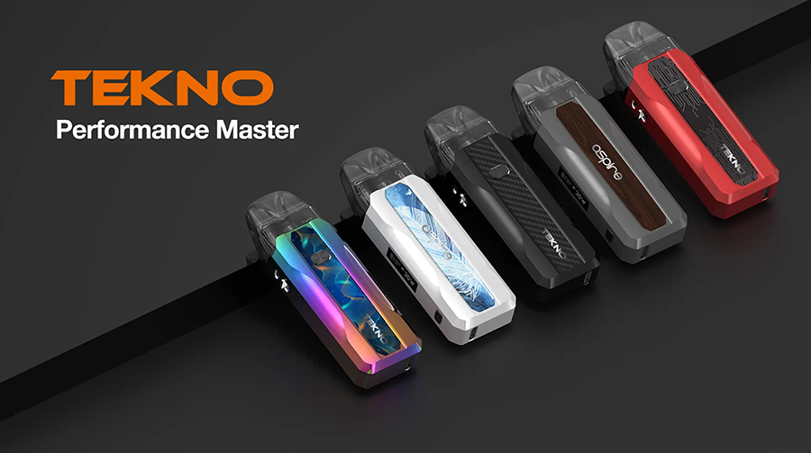Small enough to fit in your pocket and delivering a vape that feels closer to a cigarette, the Tekno is the ideal vape kit for beginners.