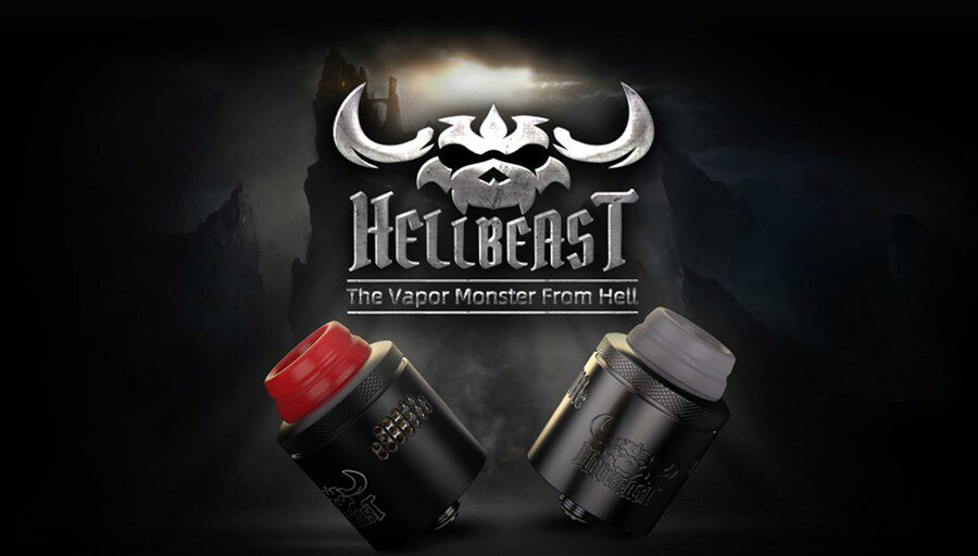Compatible with a wide selection of vape mods, the HellBeast RDA offers increased vppur production and can help deliver better flavour from e-liquid.