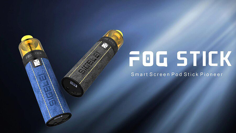Compact and simple to use, the Sigelei Fog Stick offers an easy introduction to sub ohm vaping.
