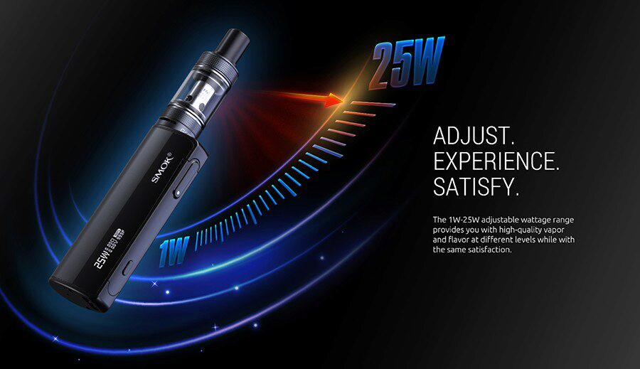 Take your pick from a wide wattage range and discover an MTL vape you'll feel comfortable with.