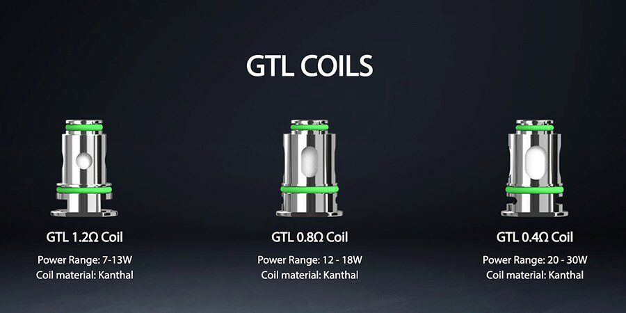 Whether you're looking to experience discreet vapour production or more vapour for a DTL inhale, the wide range of GTL coils offers something for everything.