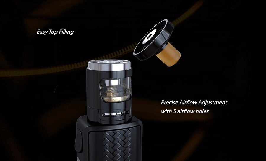 Top filling and adjustable airflow make the GZeno tank the ideal option for vapers look to experience a simpler vape.