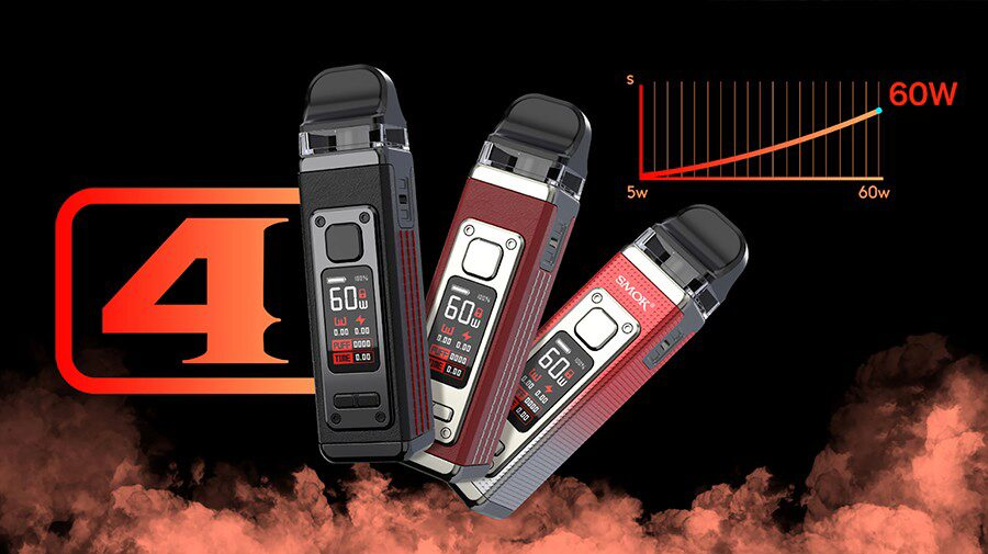 Looking for a harder hit or a more relaxed vape, Variable Wattage features on the RPM 4 and gives you the ability to find your perfect level of vapour production.