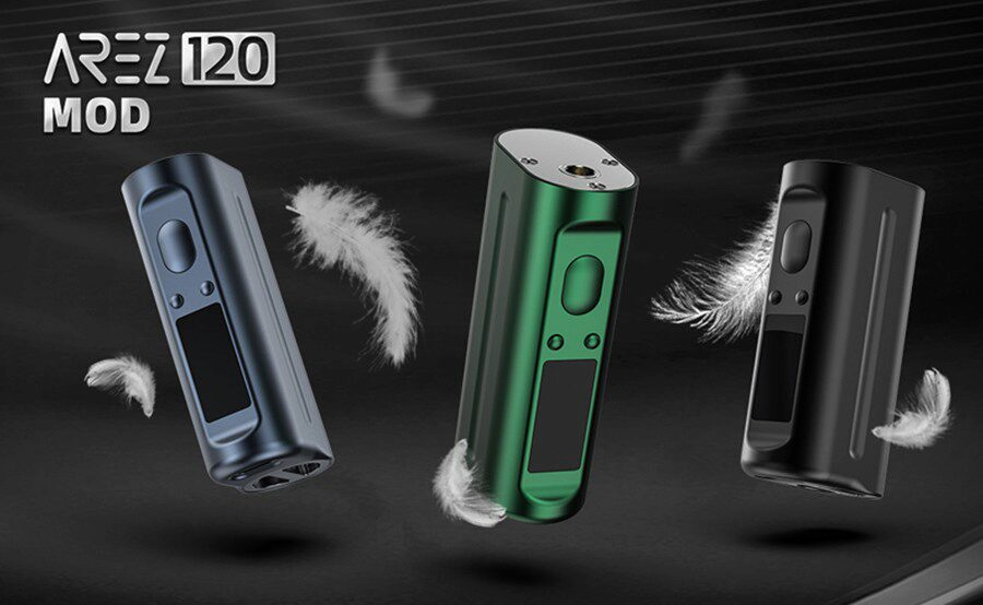Tough and dependable, the HellVape Arez 120W sub ohm vape device is a reliable option.