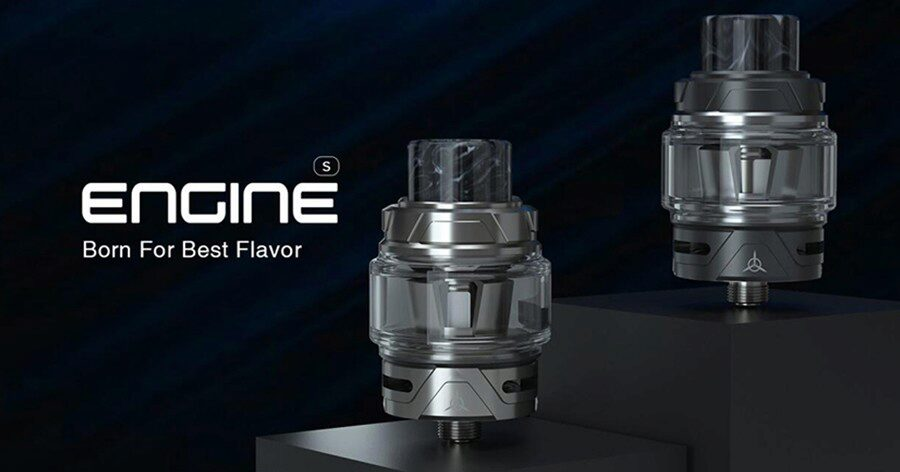 Supporting DTL vaping and creating large amounts of vapour, the OBS Engine S is a classic sub ohm vape tank.