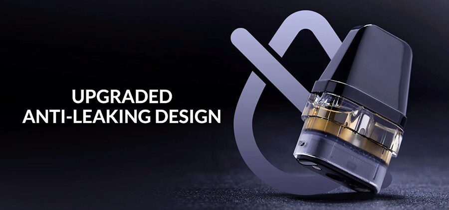 Compatible with a wide range of e-liquids, the Xlim replacement pods can each hold up to 2ml of e-liquid and feature a leakproof design.
