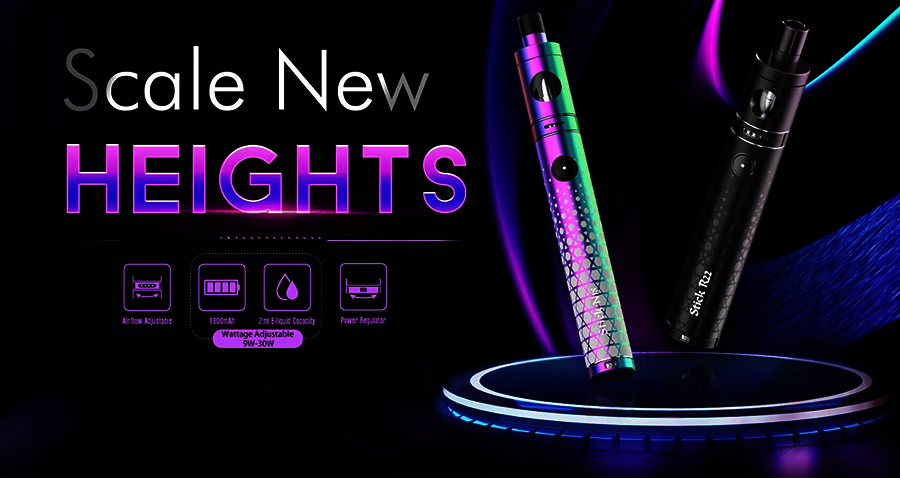 The Smok N18 Stick vape starter kit is a simple pen vape that's ideal for new and experienced vapers.