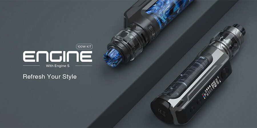 A pocket-friendly sub ohm kit, the OBS Engine 100W vape kit can produce a large amount of vapour.