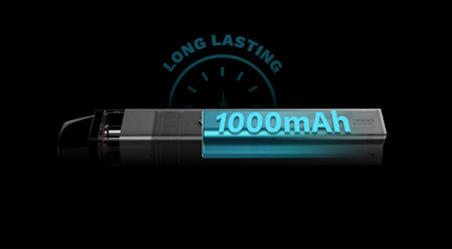the 1000mAh built-in battery lasts for longer and is quick to recharge too. This makes the Vaporesso XROS 2 the ideal option for vaping on the go.