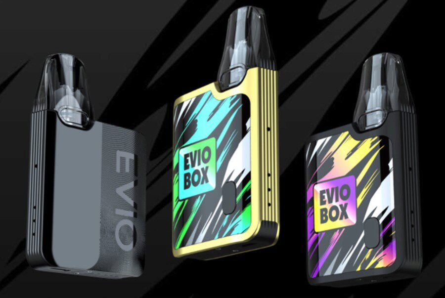 The Joeyetech EVIO Box vape starter kit is the ideal option for first-time vapers and is very easy to use.