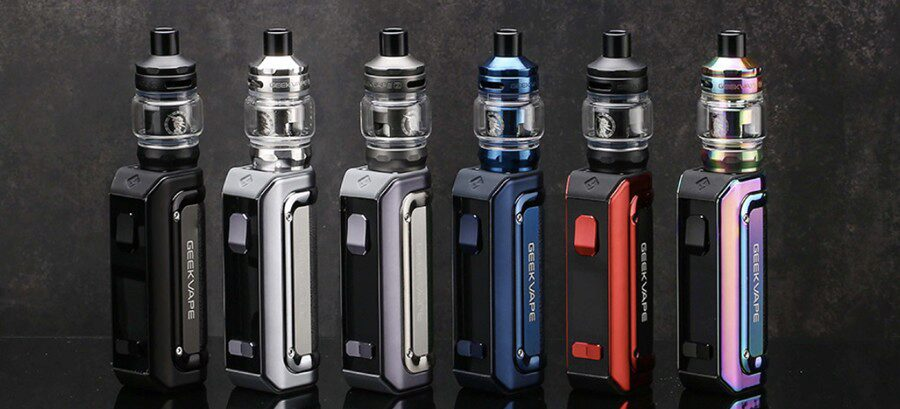The GeekVape M100 Aegis Mini 2 kit comes in a range of different colours, so you can choose your favourite.