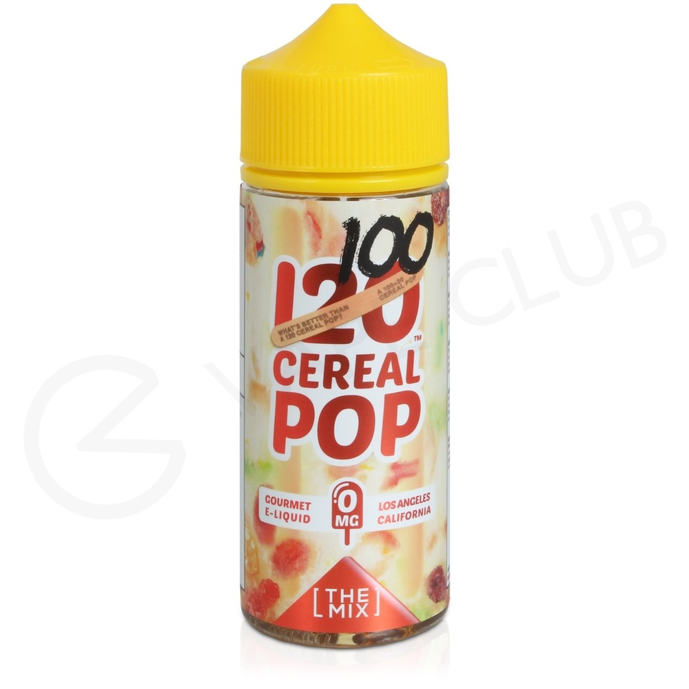 120 Cereal Pop eLiquid by Mad Hatter Juice 100ml