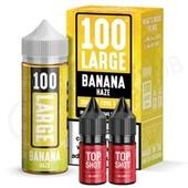 Banana Haze Shortfill E-Liquid by 100 Large 100ml