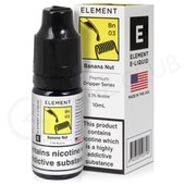Banana Nut Dripper eLiquid By Element