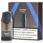 Blueberry eLiquid Pod by Hexa