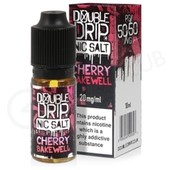 Cherry Bakewell Nic Salt eLiquid by Double Drip