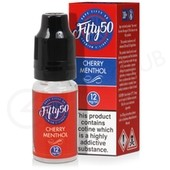 Cherry Menthol eLiquid by Fifty 50