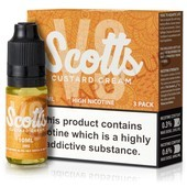 Custard Cream High Nicotine e-Liquid by Scotts
