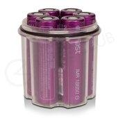 Efest Super Waterproof Vape Battery Case 6 X 18650