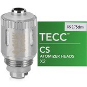 TECC CS 0.75 Ohm Pure Cotton Replacement Coils