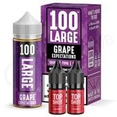 Grape Expectations Shortfill E-Liquid by 100 Large 100ml